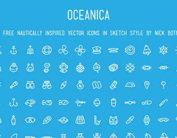 120 Nautically Inspired Icons