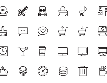 100 Free iOS7 Vector Icons