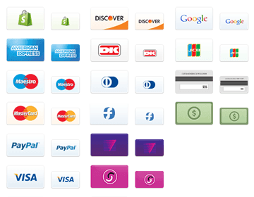 32 Free Credit Card Icons - 44px and 34px icons