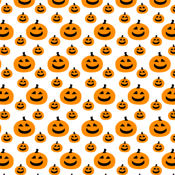A Seamless Photoshop And Illustrator Pumpkin Pattern