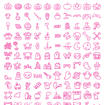 Free PNG & SVG Halloween Icons