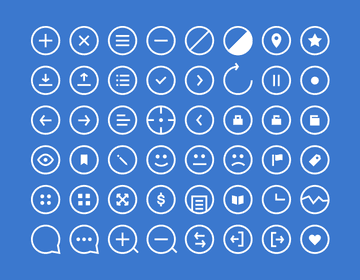 48 Rounded Icons - Get'em!
