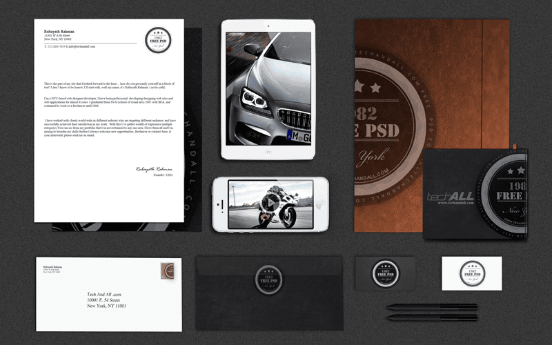 Branding Identity Mock up Vol.2 тАЬLuxuryтАЭ