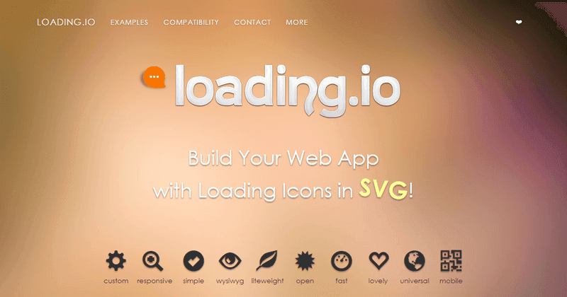 loading.io - Your SVG Ajax Loading Icons