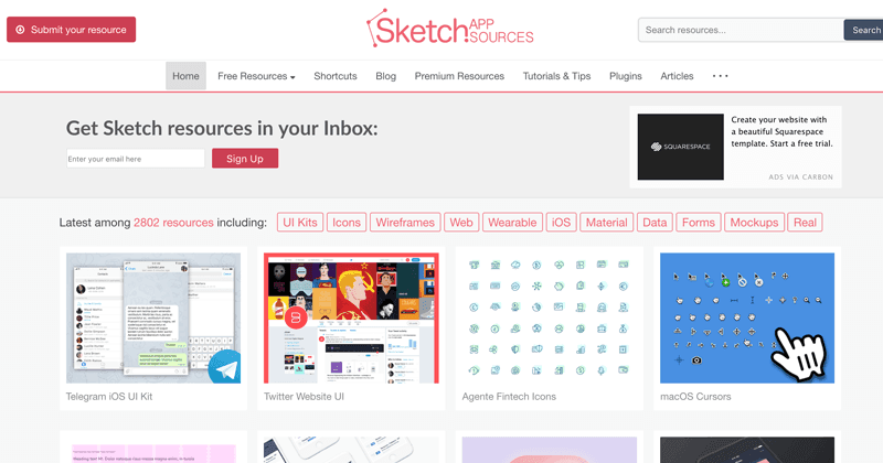 Sketch App Sources