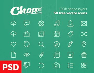 Free Vector Icons from Chapps